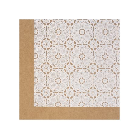Self Adhesive Foil Lace Vintage Contact Paper Vinyl