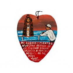 Ex-voto peint dédié à Notre-Dame de la Solitude