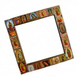 Miroir Vierge de Guadalupe Doré
