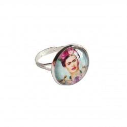Bague Frida avec améthyste - Bijou Frida Kahlo - Casa Frida