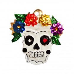 Catrina Frida Kahlo - Décoration fête des morts - Casa Frida