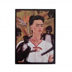 Mini cadre Autoportrait avec Mono