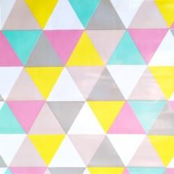 Toile cirée Triangles