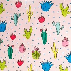 Toile cirée Cactus