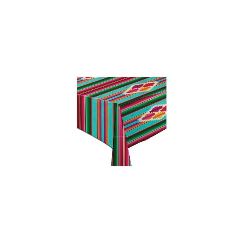 toile cir e sarape toile enduite au m tre d co mexicaine casa frida. Black Bedroom Furniture Sets. Home Design Ideas