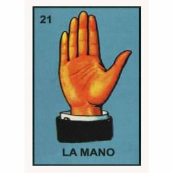 Poster La Mano