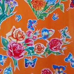 Toile cirée Mariposas Orange