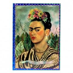 Carnet Frida Kahlo Autoportrait