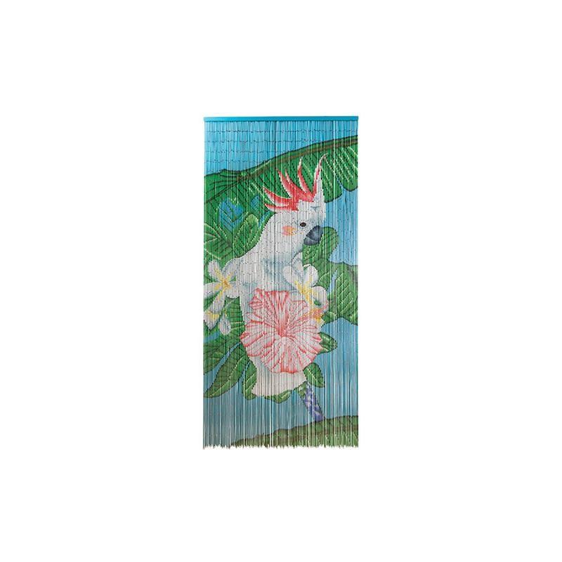 rideau de porte cacato s perles bambou style tropical casa frida. Black Bedroom Furniture Sets. Home Design Ideas