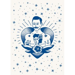 Poster Tatouage Marin