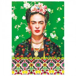 Frida Kahlo notebook Green