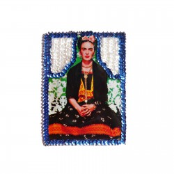 Patch sequins Frida Kahlo
