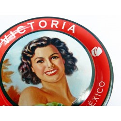 Sous verre vintage Victoria - Pin up mexicain