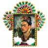 Niche métal Autoportait de Frida