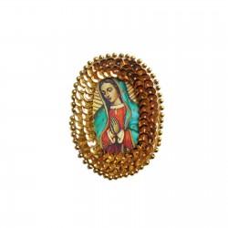 Patch sequins Vierge de Guadalupe