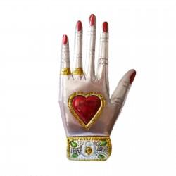 Décoration Main avec coeur