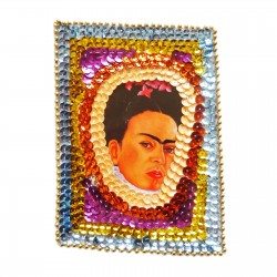 Patch sequins Viva Frida! Violet