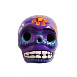 Grand magnet Crâne Violet