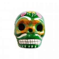 Grand magnet Crâne Vert
