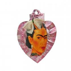 Aimant coeur sacré Frida Rose