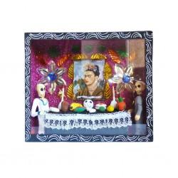 Vitrine Autel de Frida Noir