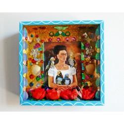 Niche Frida Kahlo - Moi et mes Perroquets