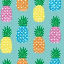 Toile cirée ananas - Toile cirée au style tropical rétro - Casa frida