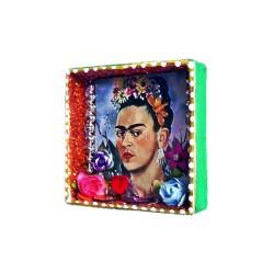 Nicho mini de Frida Kahlo Autorretrato