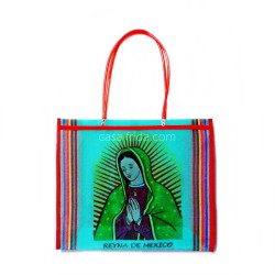 Turquoise Guadalupe market bag