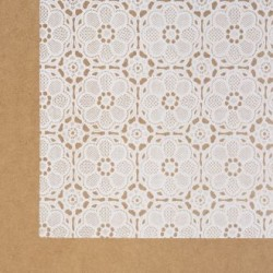 Self adhesive foil Lace