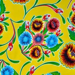 Toile cirée Dulce flor Jaune