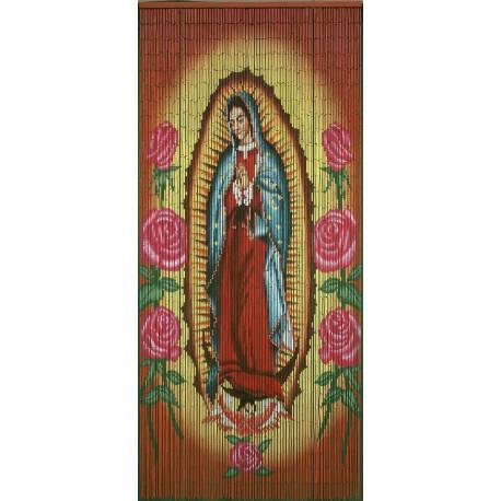 Cortina de puerta Virgen de Guadalupe