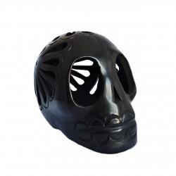 Barro Negro skull - Mexican black clay skull - Casa Frida