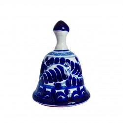 Cloche bleue Talavera de Puebla - Objet de collection Mexique - Casa Frida