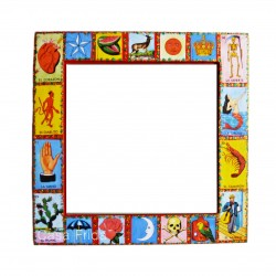 Loteria mirror Red