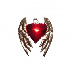 Winged sacred heart