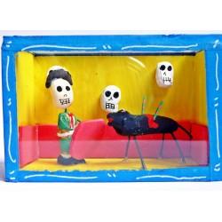 Boîte vitrine - Le matador - Bleu