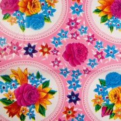 Oilcloth Rosario pink