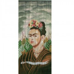 Frida Kahlo door curtain