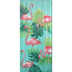 Door curtain Flamingo