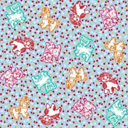 Self adhesive foil Retro pets