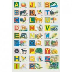Póster Alfabeto ilustrado