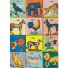 Poster Animaux vintage