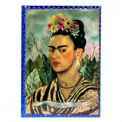 Frida Kahlo selfportrait notebook