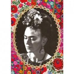 Cahier Frida Kahlo Broderies