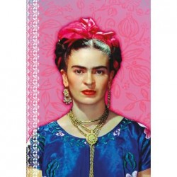 Frida Kahlo notebook Pink