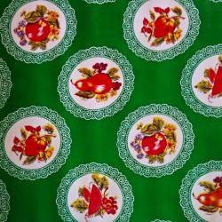 Oilcloth Carpetas Green