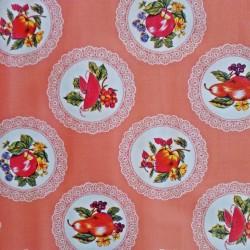 Oilcloth Carpetas Peach