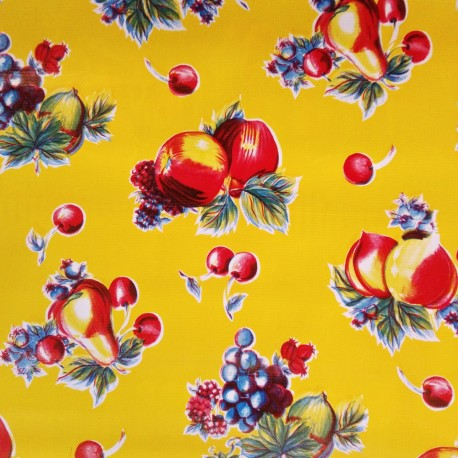 Oilcloth Verano Yellow