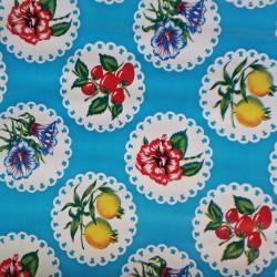 Oilcloth Granadas Blue